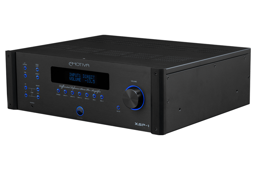 XSP-1 Differential Reference Preamp for MC & MM cartridges