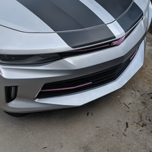 6th Gen Camaro RS Grill Chrome Overlays