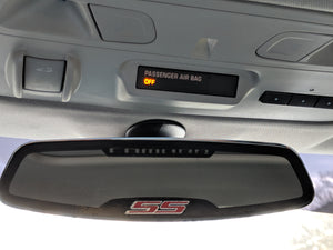 Deluxe Rear View Mirror Trim
