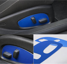 6th Gen Camaro Aluminium  Seat Adjustment Panel Trim
