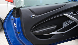 Gen 6 Camaro Door Tweeter Trim