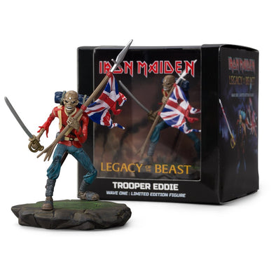 IRON MAIDEN: LEGACY OF THE BEAST - TROOPER EDDIE FIGURE