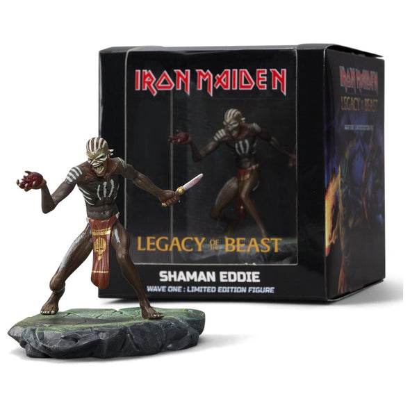 Iron Maiden : Legacy of the Beast - Shaman Eddie Figure