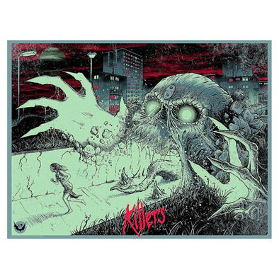 'Killers' Silk Screen Variant Art Print - by artist Godmachine