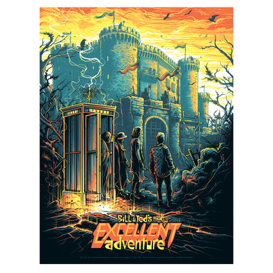 'Be Excellent to Each Other' Variant Edition Silk Screen Art Print - by artist Dan Mumford