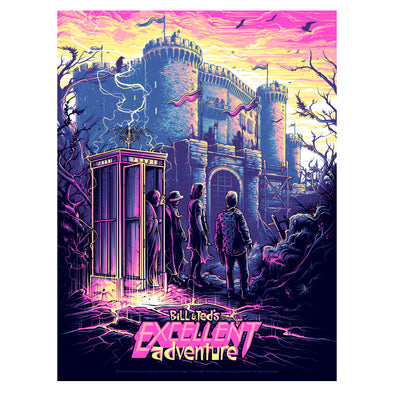 'Be Excellent to Each Other' Regular Edition Silk Screen Art Print - by artist Dan Mumford