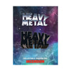Heavy Metal Black Logo Pin