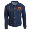 Heavy Metal 'Burning Chrome' Blue Jean Jacket