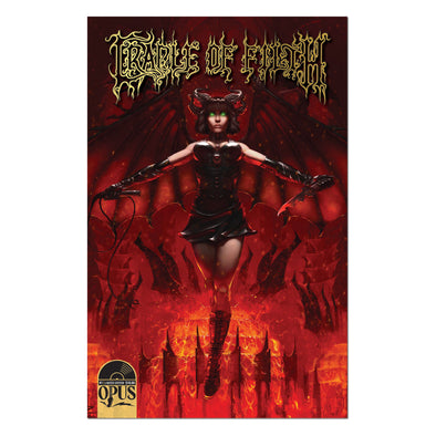 Cradle of Filth : Maledictus Athenaeum #1 First Print Ltd Ed Comic Book