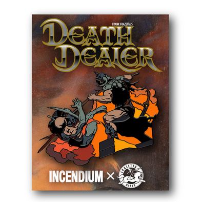 'Death Dealer V' Lapel Pin