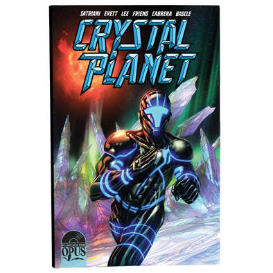 Crystal Planet #1 Joe Satriani First Print Ltd Ed Comic Book