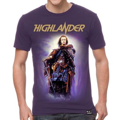 Highlander: Illustrated Connor T-Shirt