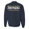 Creepshow Embroidered Crew Neck Sweater