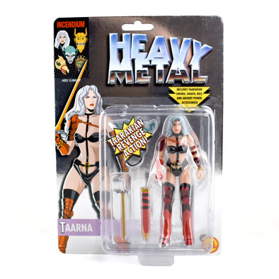 Heavy Metal 'Taarna' Chrome Carded FigBiz Action Figure Limited Edition 400