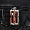 Bill & Ted's Excellent Adventure Phone Booth Lapel Pin