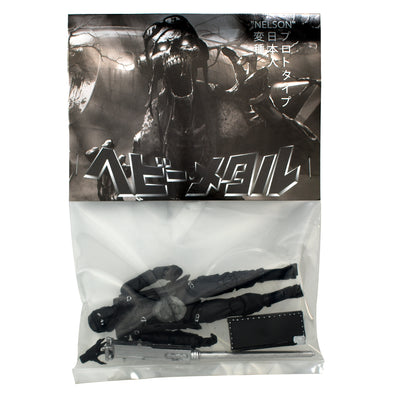 Heavy Metal Japan 'Nelson' Black Metal Prototype Action Figure NYCC 2019