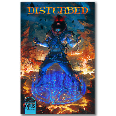 Disturbed: Dark Messiah Limited Edition Comic Book