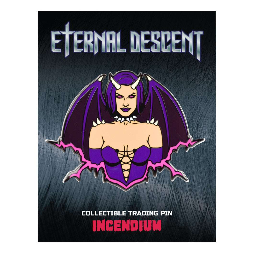 Eternal Descent Lapel Pin : Lyra