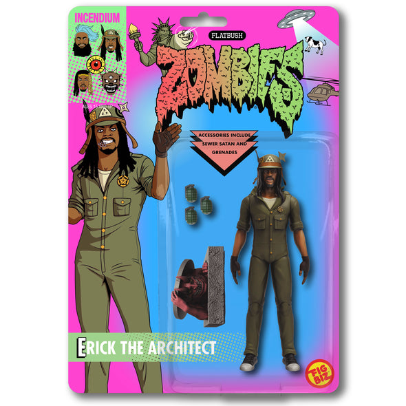 Flatbush Zombies, 3001: A Laced Odyssey 'Erick The Architect'  FigBiz Action Figure