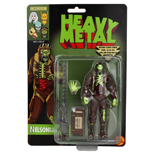 Heavy Metal 'Nelson' B-17 Tailgunner FigBiz Action Figure