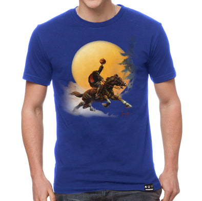 Frazetta Halloween Headless Horseman T-shirt