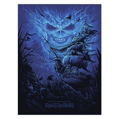 'Ghost of the Navigator' Silk Screen Art Print - by artist Dan Mumford