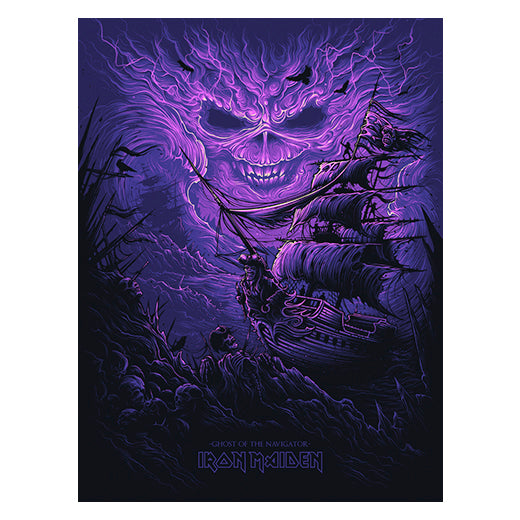 'Ghost of the Navigator' Silk Screen Variant Art Print - by artist Dan Mumford