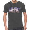 Heavy Metal Logo T-shirt Gray