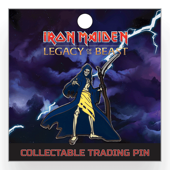 Iron Maiden : Legacy of the Beast Lapel Pin - Grim Reaper Eddie