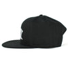Heavy Metal Logo Black Snapback Hat
