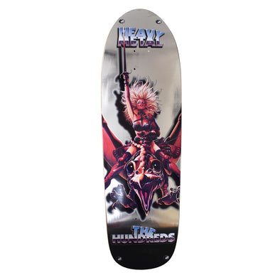 Heavy Metal X Hundreds Skate Deck