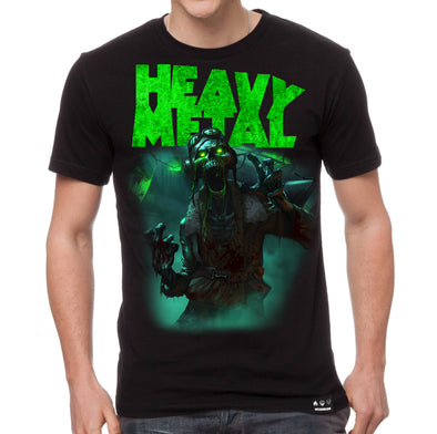 Heavy Metal 'Nelson' T-shirt by Ryan Christensen