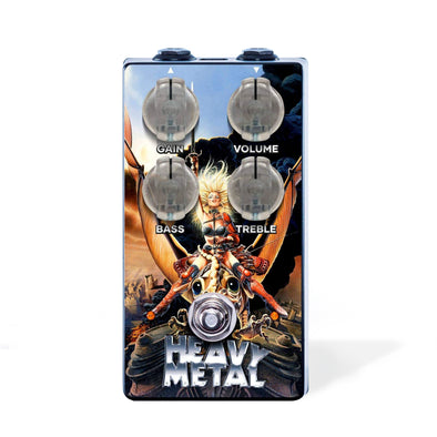 "The ""Heavy Metal"" Distortion Pedal"