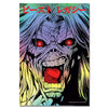 Iron Maiden : Legacy of the Beast Face Print (Holographic Foil)