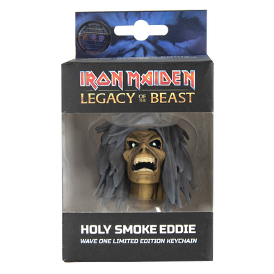 Iron Maiden: Legacy of the Beast Holy Smoke Head Key Chain