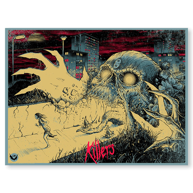 'Killers' Silk Screen Art Print - by artist Godmachine