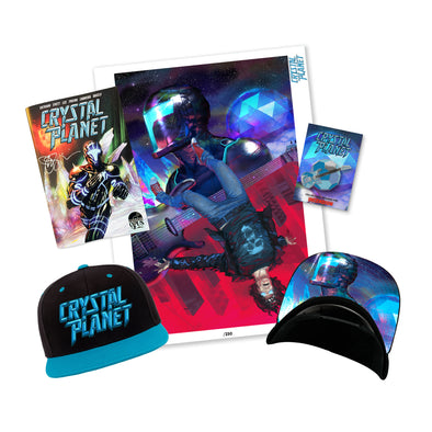 Joe Satriani SIGNED Crystal Planet Ltd Ed Comic Book Bundle