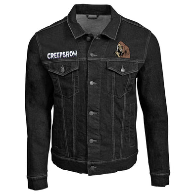 Creepshow Embroidered Denim Jacket