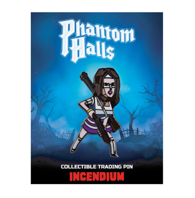 Phantom Halls Lapel Pin : The Cheerleader