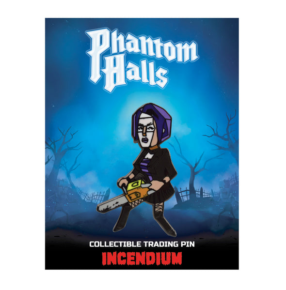 Phantom Halls Lapel Pin : The Goth
