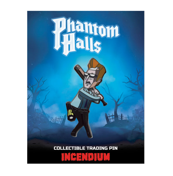 Phantom Halls Lapel Pin : The Nerd