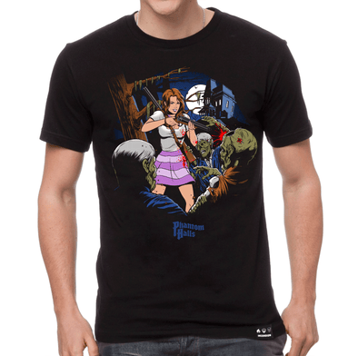 Phantom Halls : EC Comics T-shirt