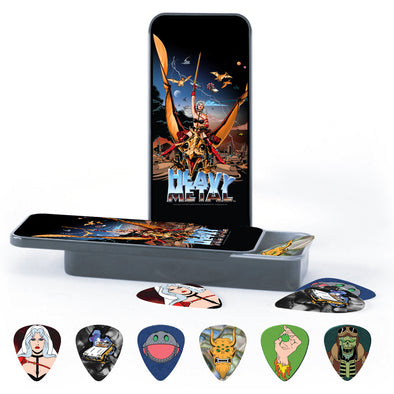Heavy Metal Guitar Pick Assortment in Collectors Tin
