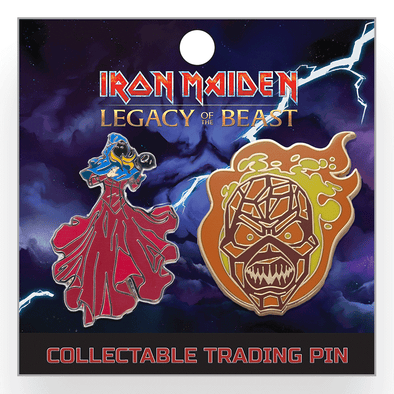 Iron Maiden : Legacy of the Beast Lapel Pin - Set 3
