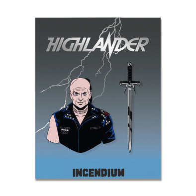 Highlander Lapel Pins : Set B