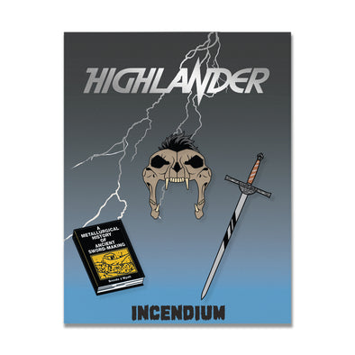 Highlander Lapel Pins : Set C