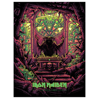 'Revelations' NYCC Edition Silk Screen Art Print - by artist Dan Mumford