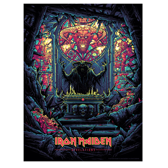 'Revelations' Regular Edition Silk Screen Art Print - by artist Dan Mumford