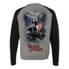 Death Dealer' Frazetta Girls x Incendium Raglan Longsleeve Sweatshirt
