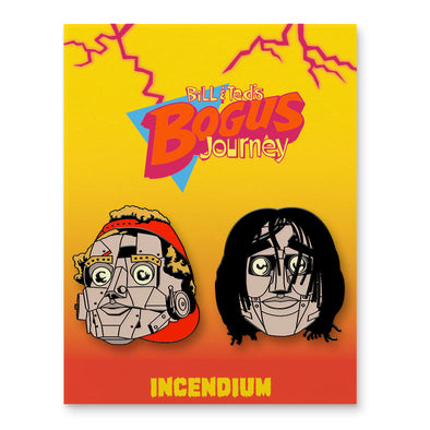 Bill and Ted's Bogus Journey Lapel Pins : Set B
